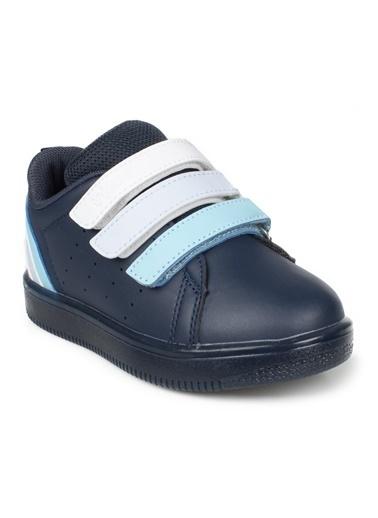 Vicco Vicco Bebe Işıklı Ayakkabı Kız Çocuk Pudra Lacivert